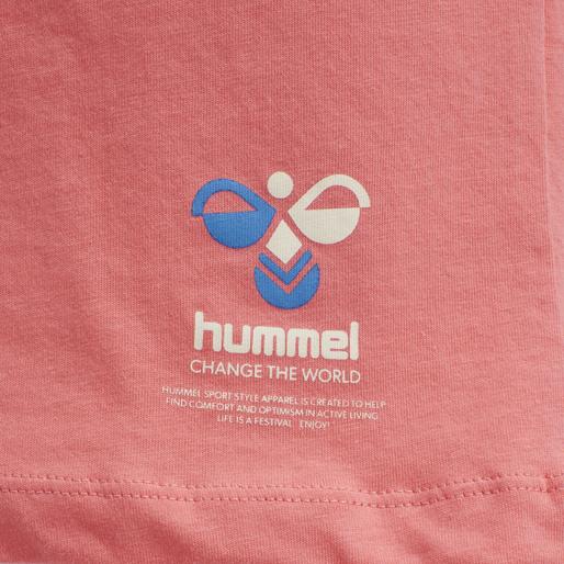 hmlSCARLET T-SHIRT, SUGAR CORAL, packshot