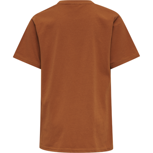 hmlGRAND T-SHIRT S/S, BOMBAY BROWN, packshot