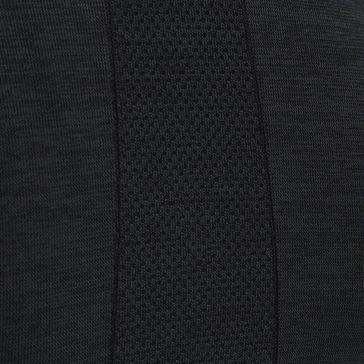 hmlCLEA SEAMLESS T-SHIRT, BLACK MELANGE, packshot