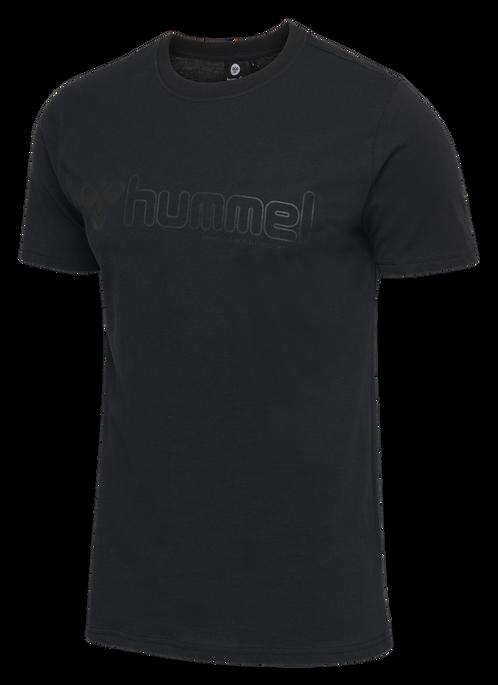 hmlMARCEL T-SHIRT S/S, BLACK, packshot