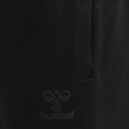 hmlACTION TRAINING PANTS, BLACK/ASPHALT, packshot
