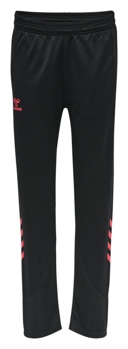 hmlACTION TRAINING PANTS WOMAN, BLACK/DIVA PINK, packshot