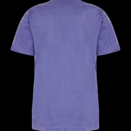 hmlTRES TEE SHIRT S/S, CORSICAN BLUE, packshot