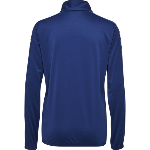 CORE HALF ZIP SWEAT WOMAN, TRUE BLUE, packshot