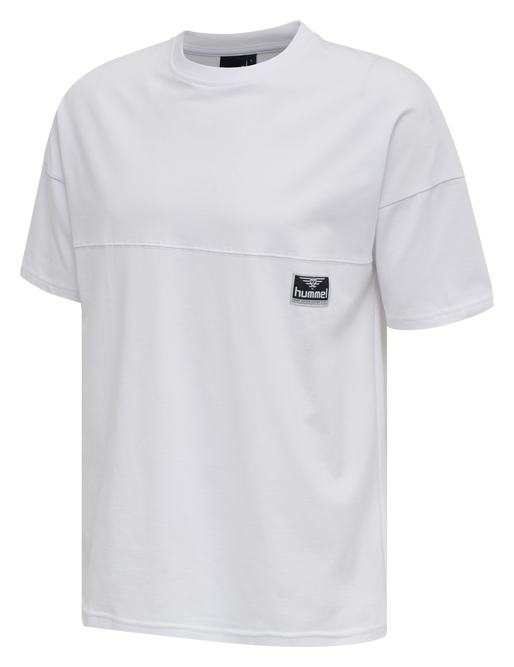 hmlBEACH BREAK T-SHIRT S/S, WHITE, packshot