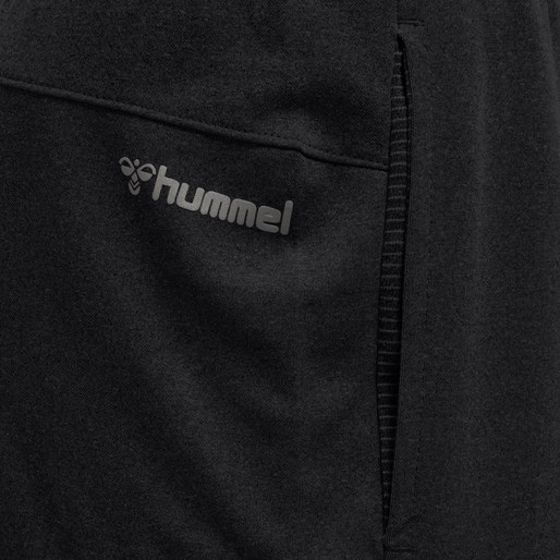 hmlNALO REGULAR SHORTS, BLACK, packshot
