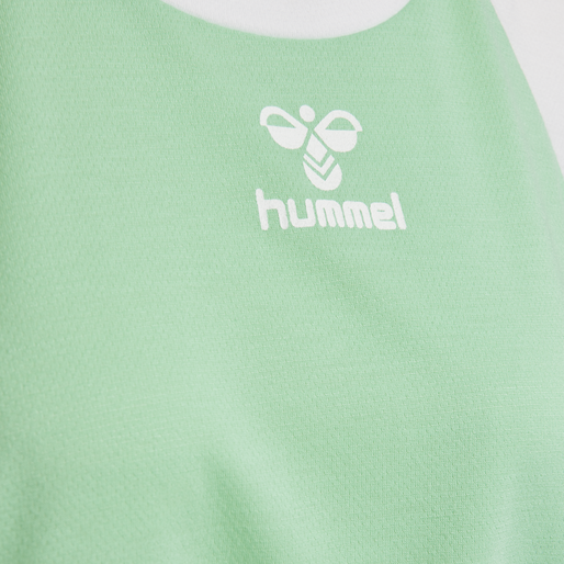 hmlROBIN T-SHIRT S/S, ICE GREEN, packshot