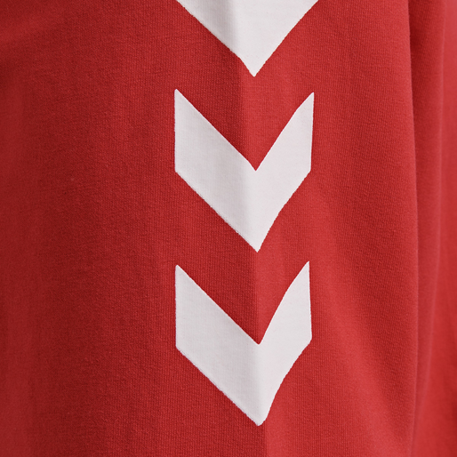 HUMMEL GO COTTON SWEATSHIRT, TRUE RED, packshot