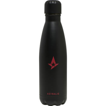 ASTRALIS WATERBOTTLE, BLACK, packshot