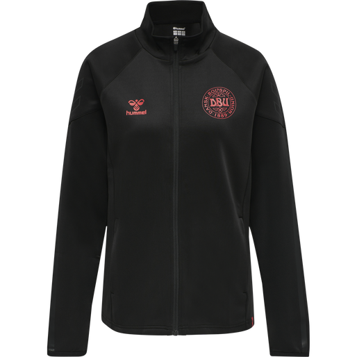 DBU TRAVEL ZIP JACKET WOMAN, BLACK, packshot