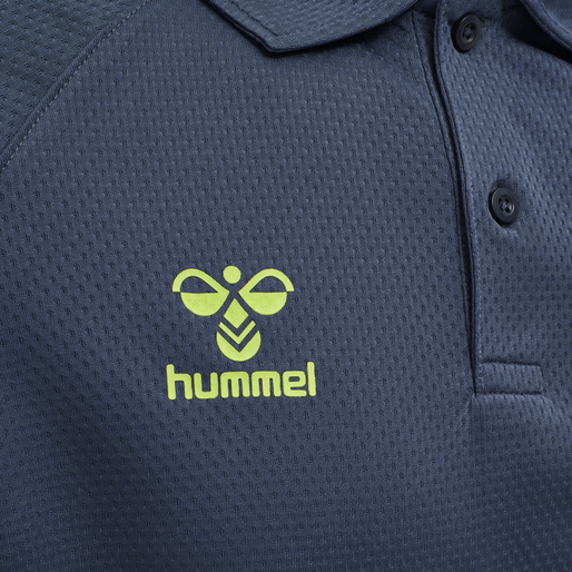 hmlLEAD FUNCTIONAL POLO, DARK DENIM, packshot