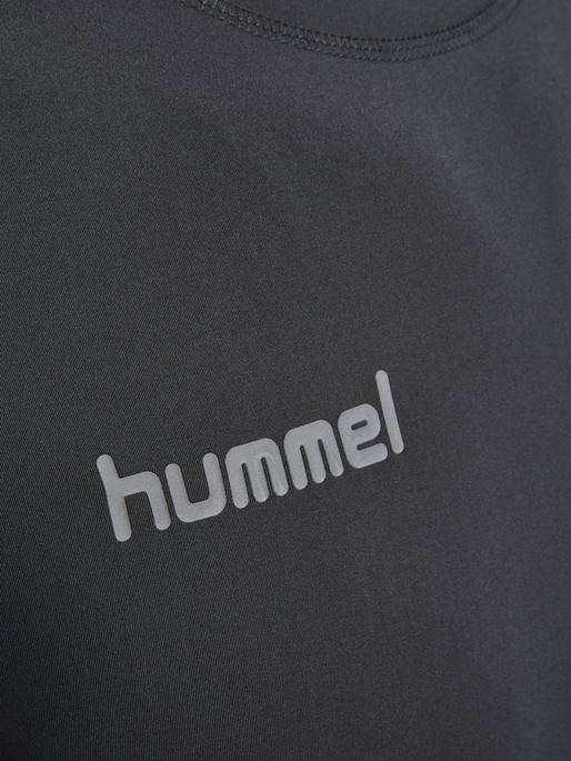 HUMMEL FIRST PERF SS JERSEY, BLACK, packshot