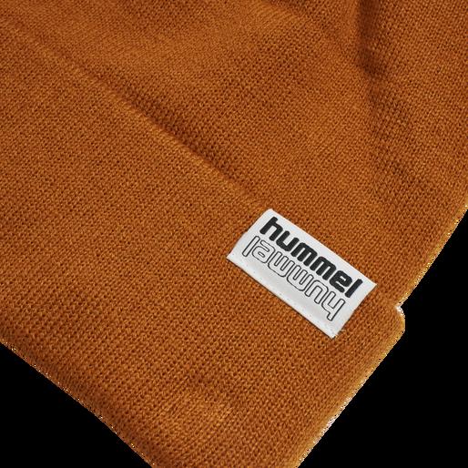 hmlPARK BEANIE, BOMBAY BROWN, packshot