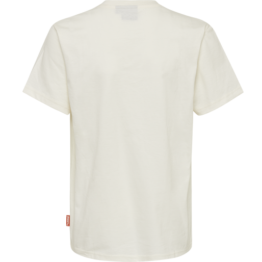 hmlJASPER T-SHIRT S/S, WHISPER WHITE, packshot