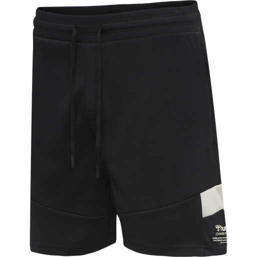 hmlALEC SHORTS, BLACK, packshot