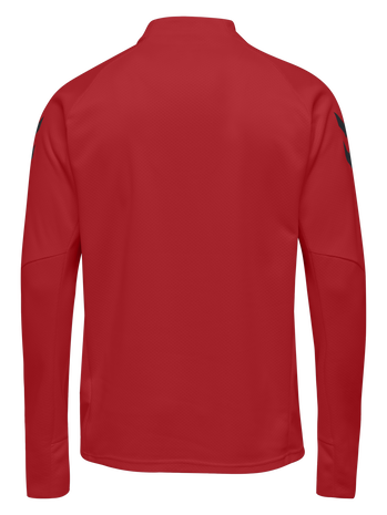 TECH MOVE HALF ZIP SWEATSHIRT, TRUE RED, packshot