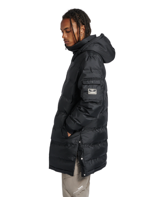 hmlCOLUMBO JACKET, BLACK, model