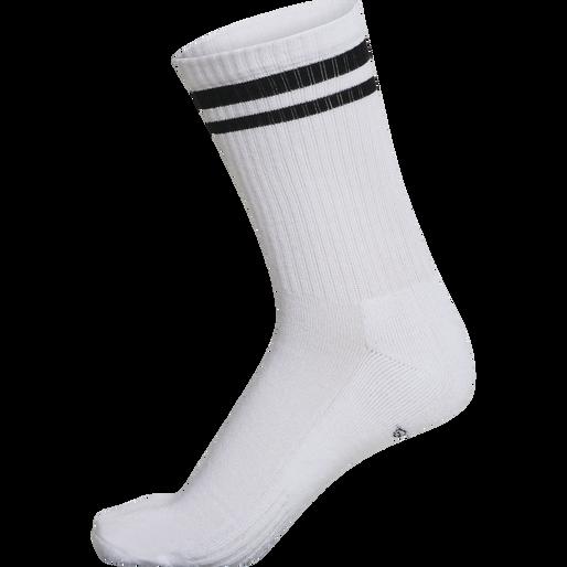 hmlRETRO 4-PACK SOCKS MIX, WHITE/BLACK, packshot