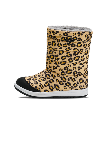 PUFFER BOOT PRINT JR, BLACK OLIVE, packshot