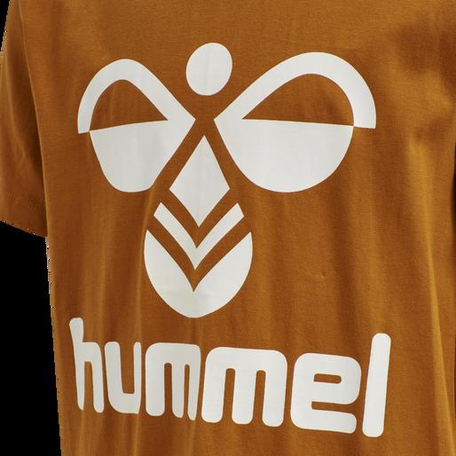 hmlTRES TEE SHIRT S/S, PUMPKIN SPICE, packshot
