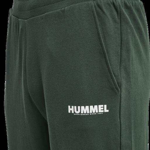 hmlLEGACY TAPERED PANTS, DARKEST SPRUCE, packshot