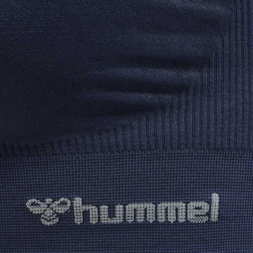 hmlTIF SEAMLESS SPORTS TOP, BLACK IRIS, packshot