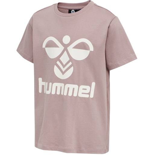 hmlTRES TEE SHIRT S/S, DEAUVILLE MAUVE, packshot