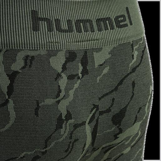 hmlSPUN SEAMLESS TIGHTS, THYME, packshot