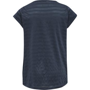 hmlSUTKIN T-SHIRT S/S, OMBRE BLUE , packshot