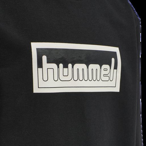 hmlMONO SWEATSHIRT, BLACK, packshot