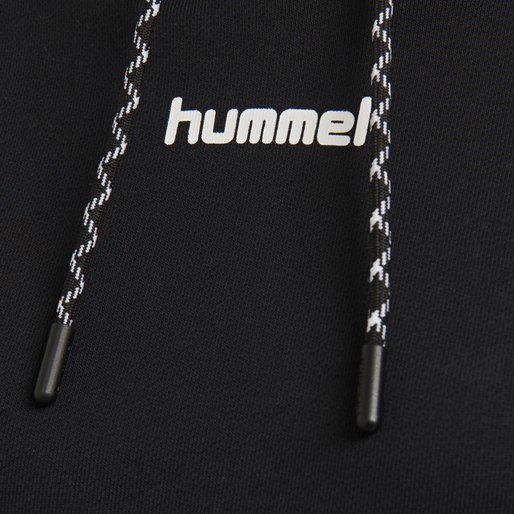 hmlCHILL SHORT HOODIE, BLACK, packshot
