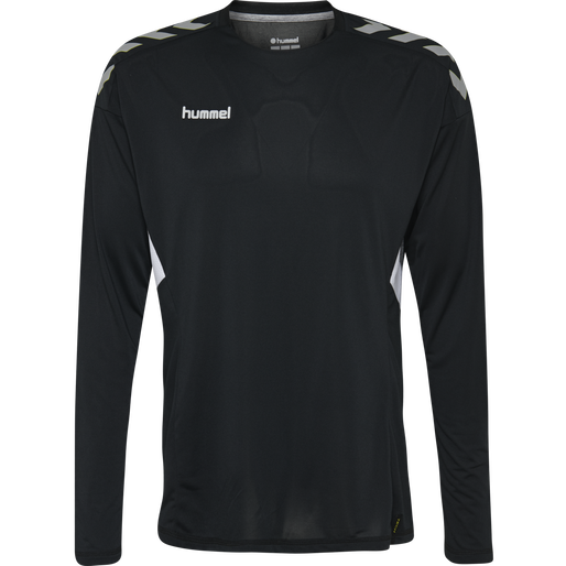 TECH MOVE KIDS JERSEY L/S, BLACK, packshot