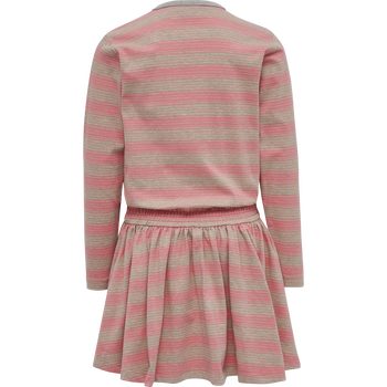 hmlSANDY DRESS L/S, TEA ROSE, packshot