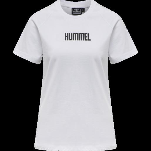 hmlSIMONE T-SHIRT, WHITE, packshot