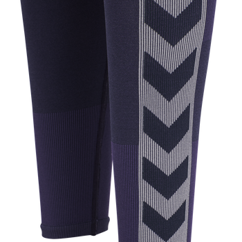 hmlHARPER SEAMLESS TIGHTS, OMBRE BLUE , packshot
