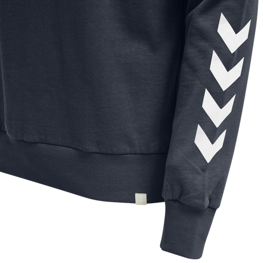 hmlLEGACY CHEVRON SWEATSHIRT, BLUE NIGHTS, packshot