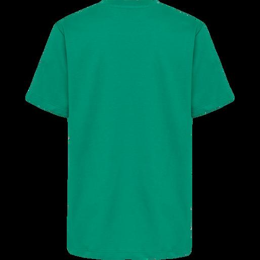 hmlUNI T-SHIRT S/S, DEEP GREEN, packshot