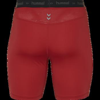 HUMMEL FIRST PERFORMANCE KIDS TIGHT SHORTS, TRUE RED, packshot