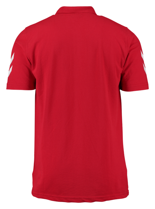 CORE COTTON POLO, TRUE RED, packshot