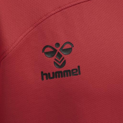 hmlLEAD HALF ZIP, TRUE RED, packshot