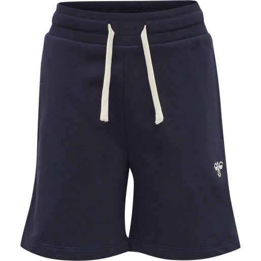 HMLBASSIM SHORTS, BLACK IRIS, packshot