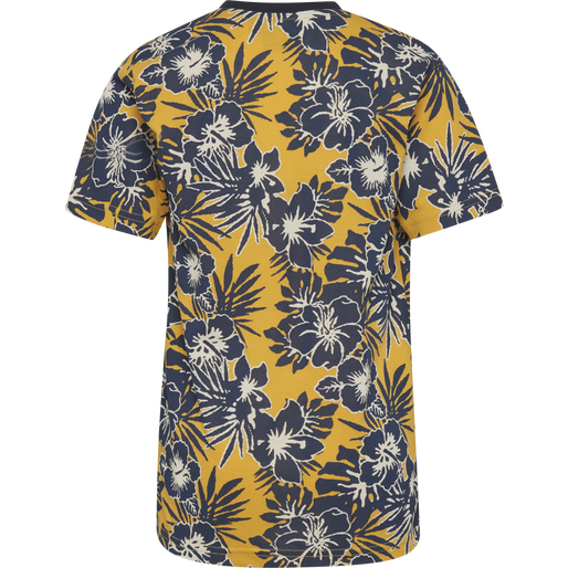 hmlALBERT T-SHIRT S/S, GOLDEN ROD, packshot