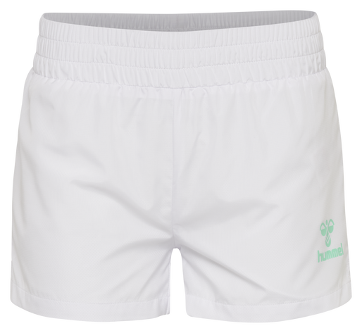 hmlTROPHY SHORTS, WHITE, packshot