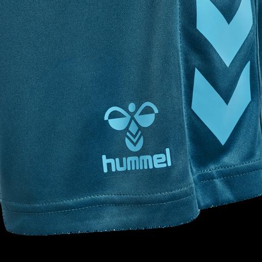 hmlCORE XK POLY SHORTS, BLUE CORAL, packshot