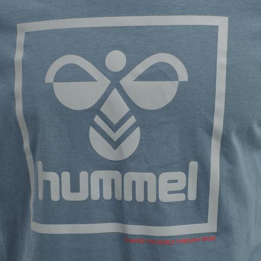 hmlISAM T-SHIRT, CHINA BLUE, packshot