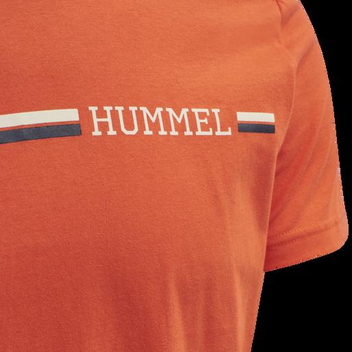 hmlMONTREAL T-SHIRT, FIESTA, packshot