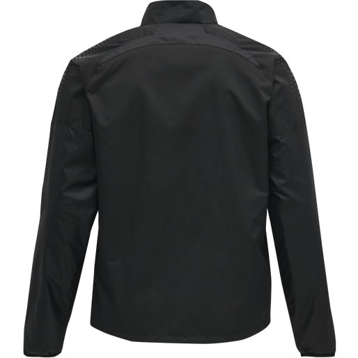 hmlLEAD PRO TRAINING JACKET/WINDBREAKER, BLACK, packshot