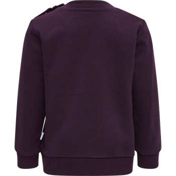 hmlLIME SWEATSHIRT, BLACKBERRY WINE, packshot