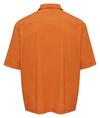 hmlWILLY HOME BOY SHIRT , SHOCKING ORANGE, packshot
