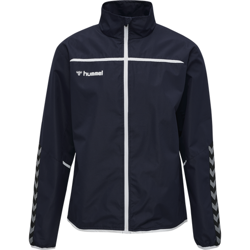 hmlAUTHENTIC KIDS TRAINING JACKET, MARINE, packshot